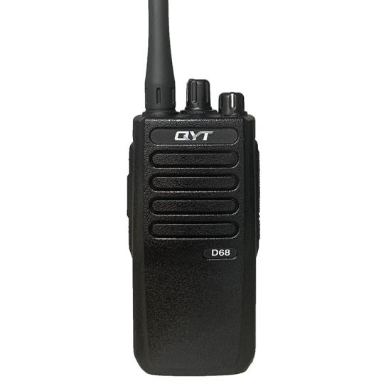 walkie talkie profesional digital qyt d68 vhf dmr